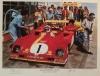 1973 Nurburgring Winning Ferrari 312PB print